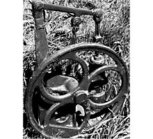 Old Water Pump Photographic Print