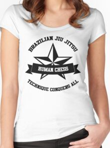 star BJJ Women's Fitted Scoop T-Shirt
