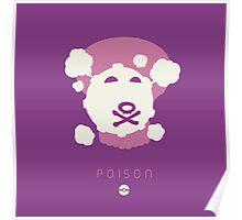 Pokemon Type - Poison Poster