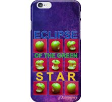 Eclipse Of The Green Star iPhone Case/Skin