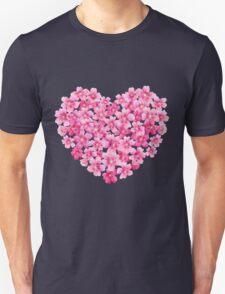 Heart flower1 Unisex T-Shirt
