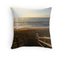 Bells Beach Throw Pillow