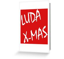 Luda X-Mas, 30 Rock. Greeting Card