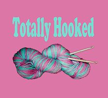 Totally hooked blue on pink version by LyricalSixties
