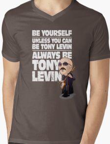 Always be Tony Levin Mens V-Neck T-Shirt