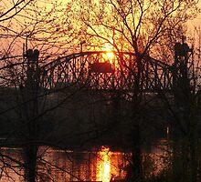 Arkansas Sunset by Photech