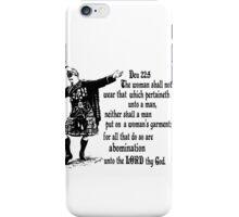 Och aye the Deu 22 iPhone Case/Skin