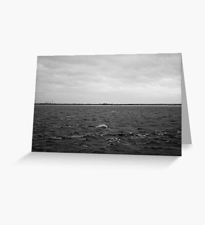 'Coastline' Greeting Card