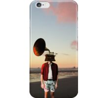 Music's Day Off iPhone Case/Skin