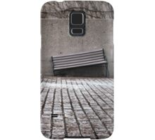 Broken Bench, Industrial Vent and Doorway, Early Spring Samsung Galaxy Case/Skin
