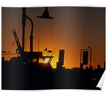 Ocean City Sunset Poster