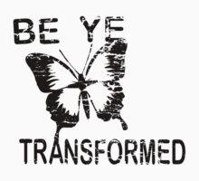 Be ye Transformed Kids Tee