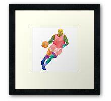 Basketball player1 Framed Print