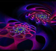 """""""Spiral Spectrum"""" - Fractal Art by Leah McNeir"""
