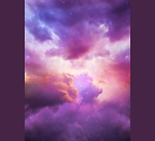 The Skies Are Painted (Cloud Galaxy) Unisex T-Shirt