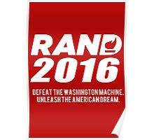 Rand Paul 2016 Poster