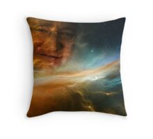 Gabe Newell Is Watching From The Stars Throw Pillow