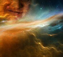 Gabe Newell Is Watching From The Stars by Wessywes