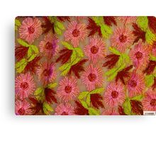 Fabric Series-Floral Canvas Print
