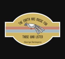 The Earth has music for those who listen Baby Tee
