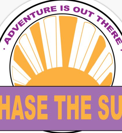 Chase The Sun Sticker