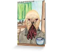 A Young Ood  Greeting Card