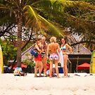Kuta Beach - Bali, Indonesia by Stephen Permezel