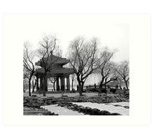 Summer Palace, China Art Print
