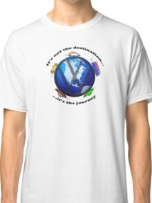 Aircooled VW - It's not the destination... Classic T-Shirt