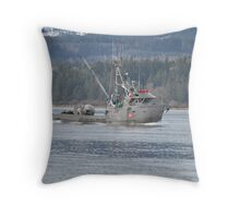 Herring season has arrived Throw Pillow