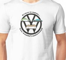 Aircooled VW - If I have to explain... Unisex T-Shirt
