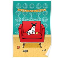 Home Sweet Home Rat Terrier Print Poster