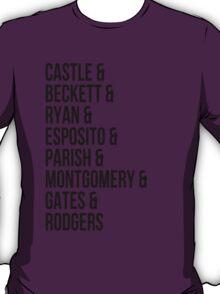 Castle Characters T-Shirt