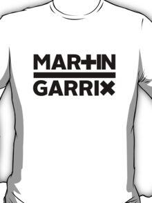Martin Garrix - Font Logo (Black) T-Shirt