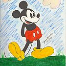 Classic Mickey Mouse Cartoon from Disney by janetmarston