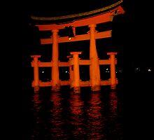 Shrine of Miyajima by Meredith Gardiner