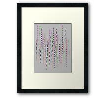 Playstation Code Framed Print
