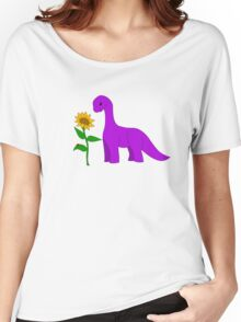 Sauropod and Sunflower Women's Relaxed Fit T-Shirt