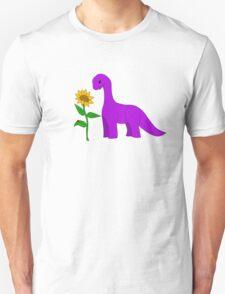 Sauropod and Sunflower T-Shirt