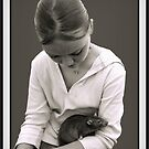 A GIRL AND HER RAT by CRYROLFE