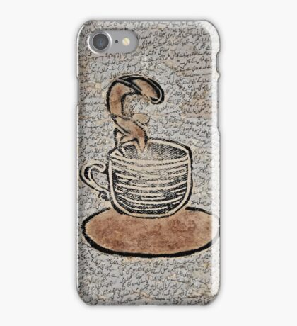 Tea Every Day of the Week iPhone Case/Skin