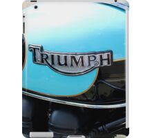 shiny triumph iPad Case/Skin