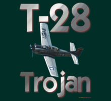 North American T-28 Trojan T-shirt Design by muz2142