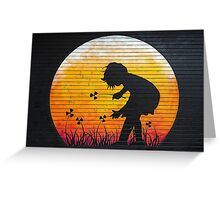 Nuclear Spring Greeting Card