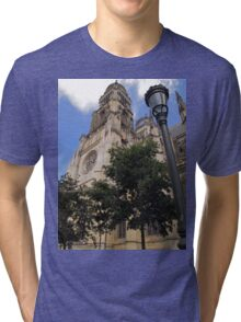 Orléans Cathedral Tri-blend T-Shirt