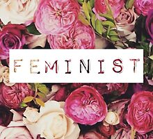 Label Maker Font Feminist Floral by hellosailortees