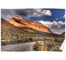 Yellowstone Hillside II Poster