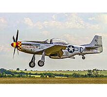 "P-51D Mustang 44-74427 F-AZSB ""Nooky Booky IV"" Photographic Print"