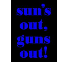 Summer Vest - GUNS Photographic Print