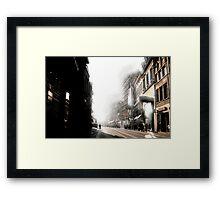 sunny side right Framed Print